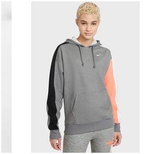 NWT Nike tri color hoodie sweatshirt women's M